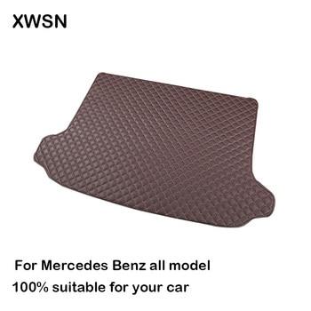 Estera de maletero de coche para mercedes w246 w212 w245 glk x204 gla gle gl x164 vito w639 s600, accesorios de coche, protege el coche