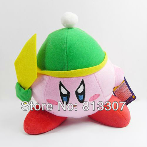 Super Mario Bros Kirby Plush Toys Animal Stuffed Doll Zelda 7inch Kirby Free Shipping