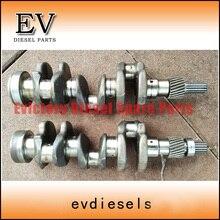 EV натуральная для двигатель Kubota трактор D722 коленчатого вала кованой стали типа 16863-2303-0