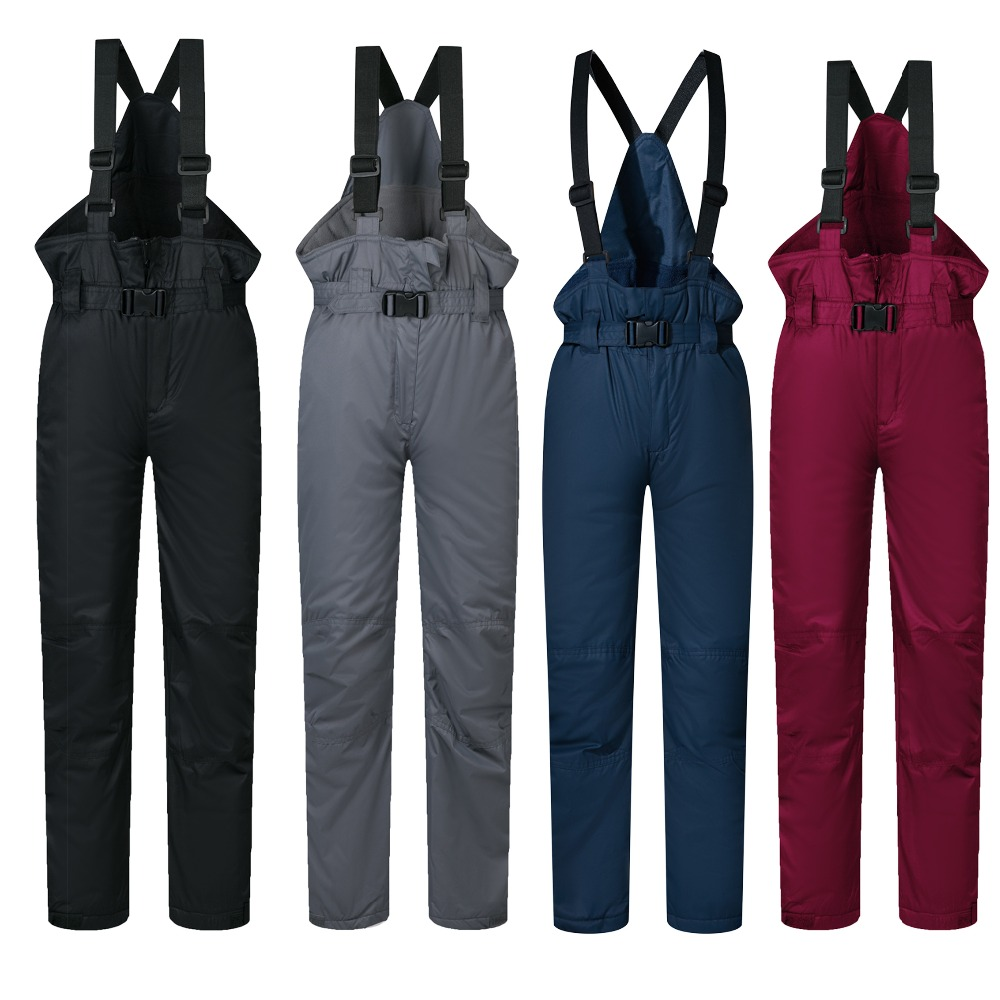 Ski Pants Kids Brands Boys And Girls 2019 New Outdoor Sports Windproof Waterproof Warm Winter Children Snow Snowboard Trousers