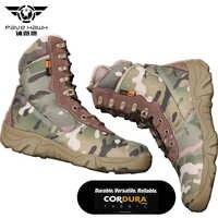 Marka kamuflaż wodoodporna mężczyźni Desert militarne taktyczne buty buty męskie trampki dla kobiet antypoślizgowe pracy nosić buty do wspinaczki górskiej