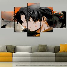 Canvas Poster Hd Prints Home Decor Animation Attack On Titan Modern Painting Wall Art Modular Picture Framework For Living Room(China)
