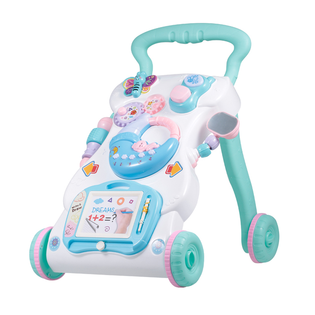 Multifuctional Baby Walker Toddler Walker Sit-to-Stand Learning Walker Toys Activity Walker for Baby Kids