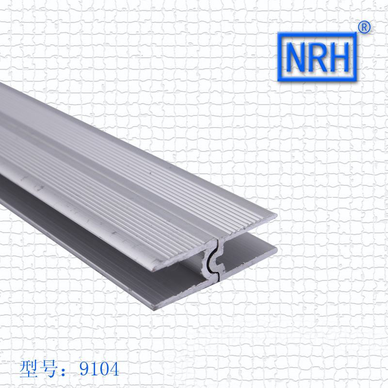 NRH-9104 Up And Down Aluminum Material 3 Meters Aluminum Air Box Male Female Channel Up And Down Slot Concave Convex Groove