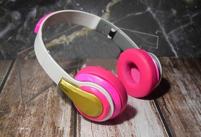 Overwatch Academy D.Va Cosplay Headphones 1