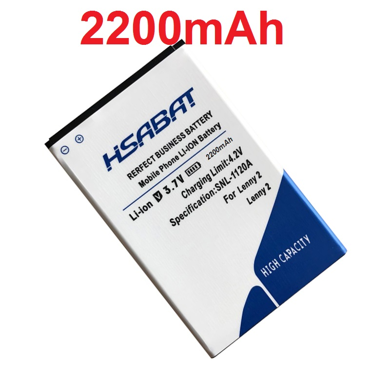 HSABAT High Quality Battery 2200mAh For Wiko Lenny 2 Battery+Fast Delivery