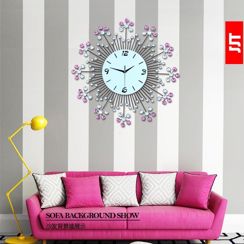Φωτεινότητα vlsivery μεγάλο ρολόι τοίχου - Διακόσμηση σπιτιού
