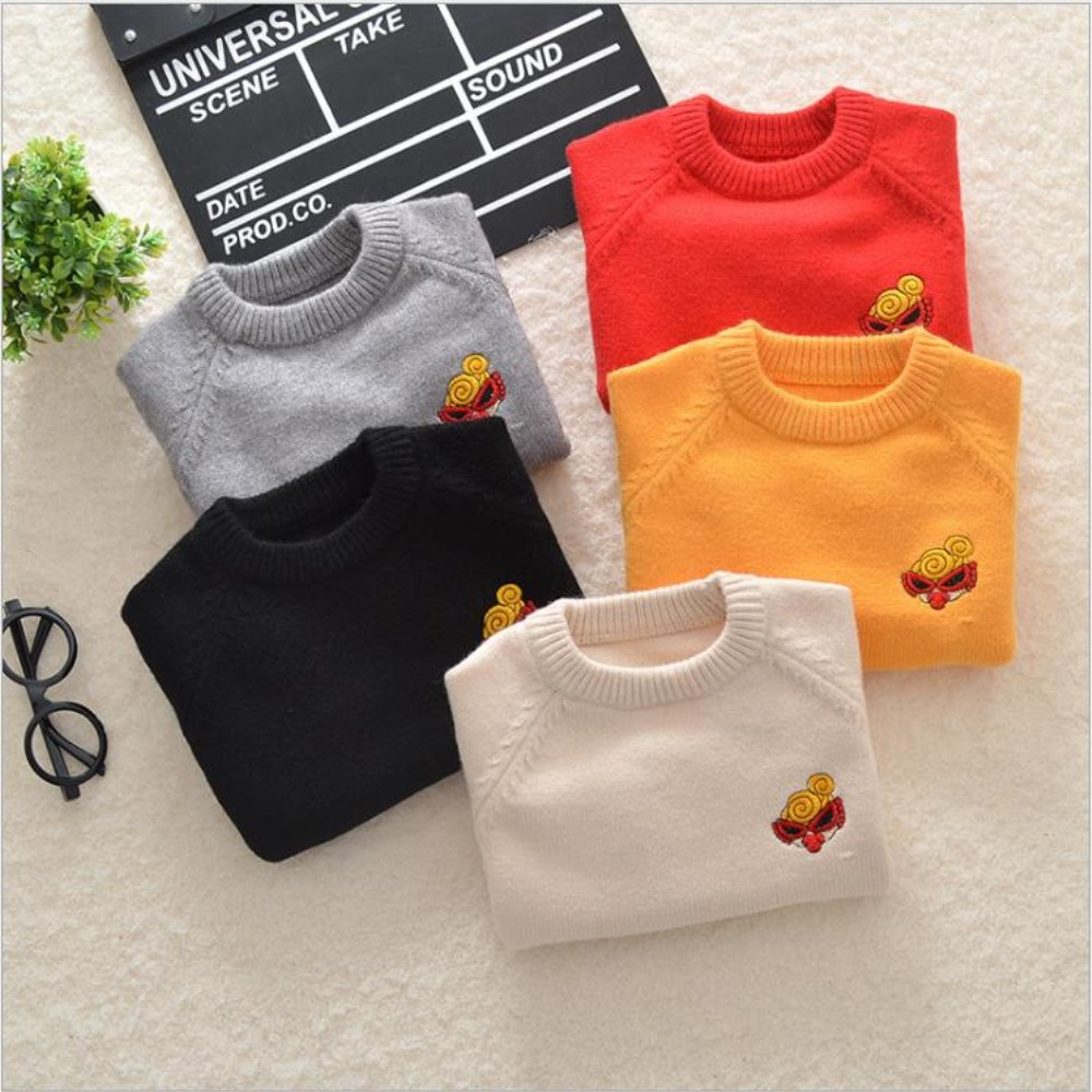 Autumn Spring Baby Girls Boys Clothes Pullover Toddlers Knit Sweater Kids Tops Boy Sweaters Cotton Girls Cardigan Clothes bbk pre sale tao 2018 autumn kids clothes boys pullover knitted sweater cotton winter tops strap pattern baby girls sweaters c