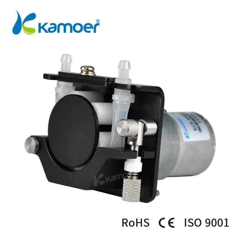 Kamoer KCS мини перистальтический Pump12V/24 V электрический маленький водяной дозирующий насос с двигателем постоянного тока (силиконовая трубка, т... - 5