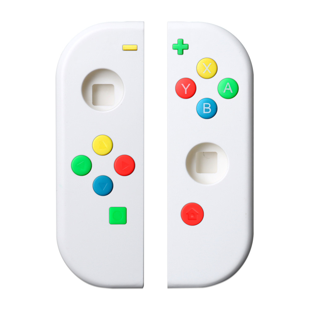 Protective Case & Buttons For Nintend Switch Left Right Controller NS NX Console Replacement Colorful Thumb Grip Button Cover