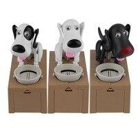 2017 Creative Cute Dog Model Piggy Bank Money Save Pot Coin Box Creative Gift Compact Interesting
