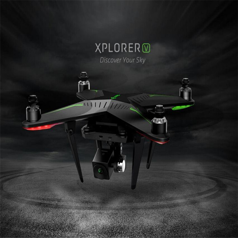 2016 Hot XIRO Xplorer (V Version) Quadcopter Helicopter Drone GPS 1080p FHD FPV live 3 Axis Gimbal Aug17