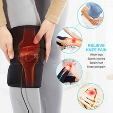 цена на 1PC Protective Gear Electric Heating Knee Pads Hot Compress Electric Leggings Elderly Massage Knee Warm Thighs Protector D40