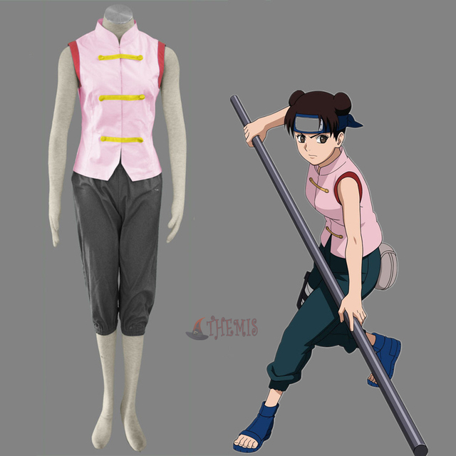 Athemis Anime Naruto Tenten Cosplay Kostum Ve Elbise Custom Made