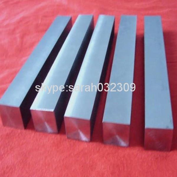 Gr5 Titanium Flat Bars 20x20x270 titanium gr5 bars ,5 pcs free shipping free shipping 1m pcs flat shape clear