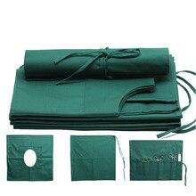 Портьеры медицинский хлопок косметической и пластической хирургии инструменты и инструменты обертка ткань