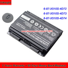 Battery Clevo Laptop 5200mah P170EM P150SM for P151em1/P151hm1/P170em/.. P151SM1 High-Quality