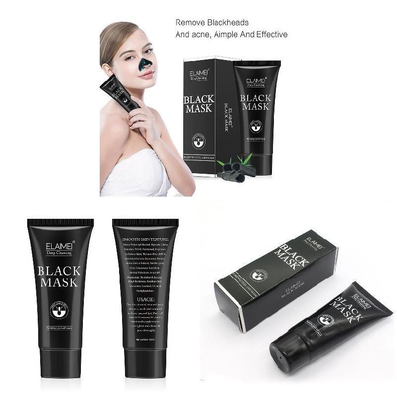 Hot Deep Cleaning Peeling Remove Blackheads Bamboo Charcoal Mask Black Acne Treatment Oil Control Mask SJ66 1