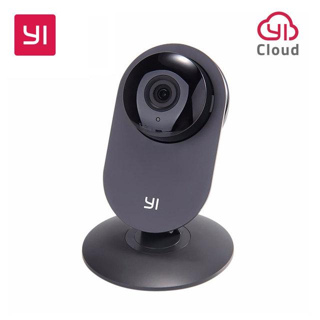 YI Home Camera 720P Black Night Vision Video Monitor IP/Wireless Network Surveillance Home Security Internation Version