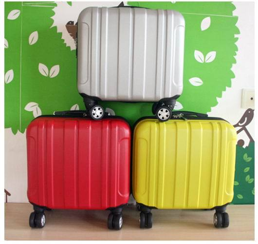 Aliexpress.com : Buy Small rolling luggage Boarding suitcase Carry ...