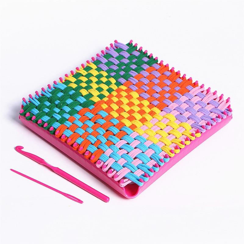 Craft Loops Weaving Loom Toy Yarn Craft Kids Learning