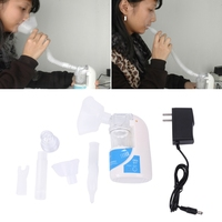 Portable Ultrasonic Nebulizer Handheld Respirator Humidifier Asthma Inhaler Mini Care Inhale Ultrasonic Nebulizer US EU Plug
