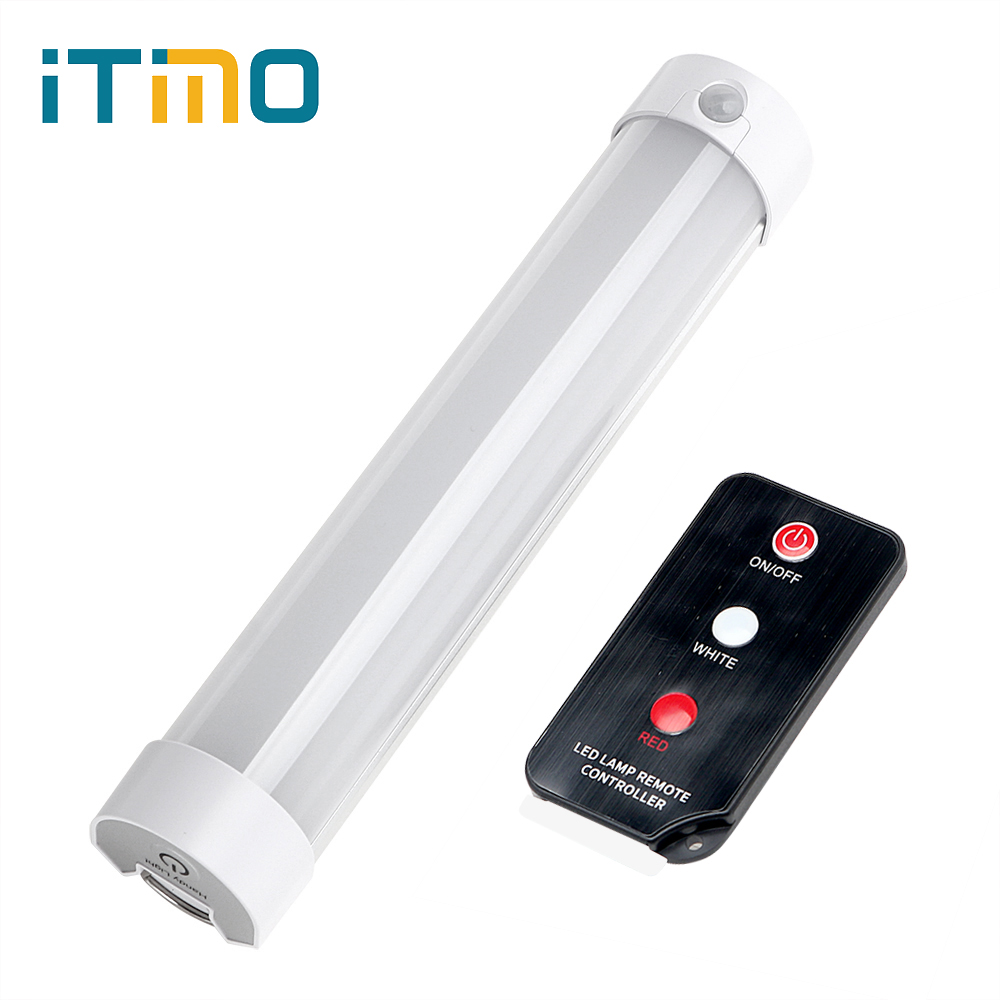 ITimo Portable Lantern Hiking Lamp Rechargeable Magnetic Repair Light 5 Modes with Remote Control LED SOS Emergency Light brightinwd q9ir sos emergency led light with remote control magnetic camping rechargeable outdoor portable lantern led camping