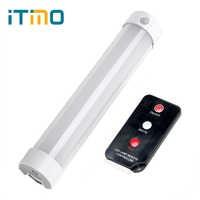 Lampe de randonnée lanterne Portable ITimo lampe de réparation magnétique Rechargeable 5 Modes avec télécommande LED lumière de secours SOS