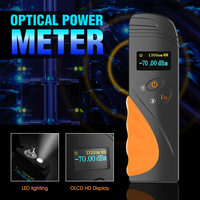 Handheld Mini Optical Power Meter fibra FTTH OPM Fiber Optical Cable Tester 70dBm~+3dBm SC/FC/ST Universal interface Connector
