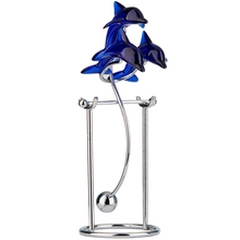New Dolphins Kinetic Art Balancing Decompression Toy Decompressive Science Psychology Home Office Decor Desk Decor Toy
