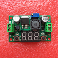 1 pcs LM2596 DC 4.0 ~ 40 a 1.3-37 V Ajustável Step-Down Power Module + LED voltímetro DC/DC