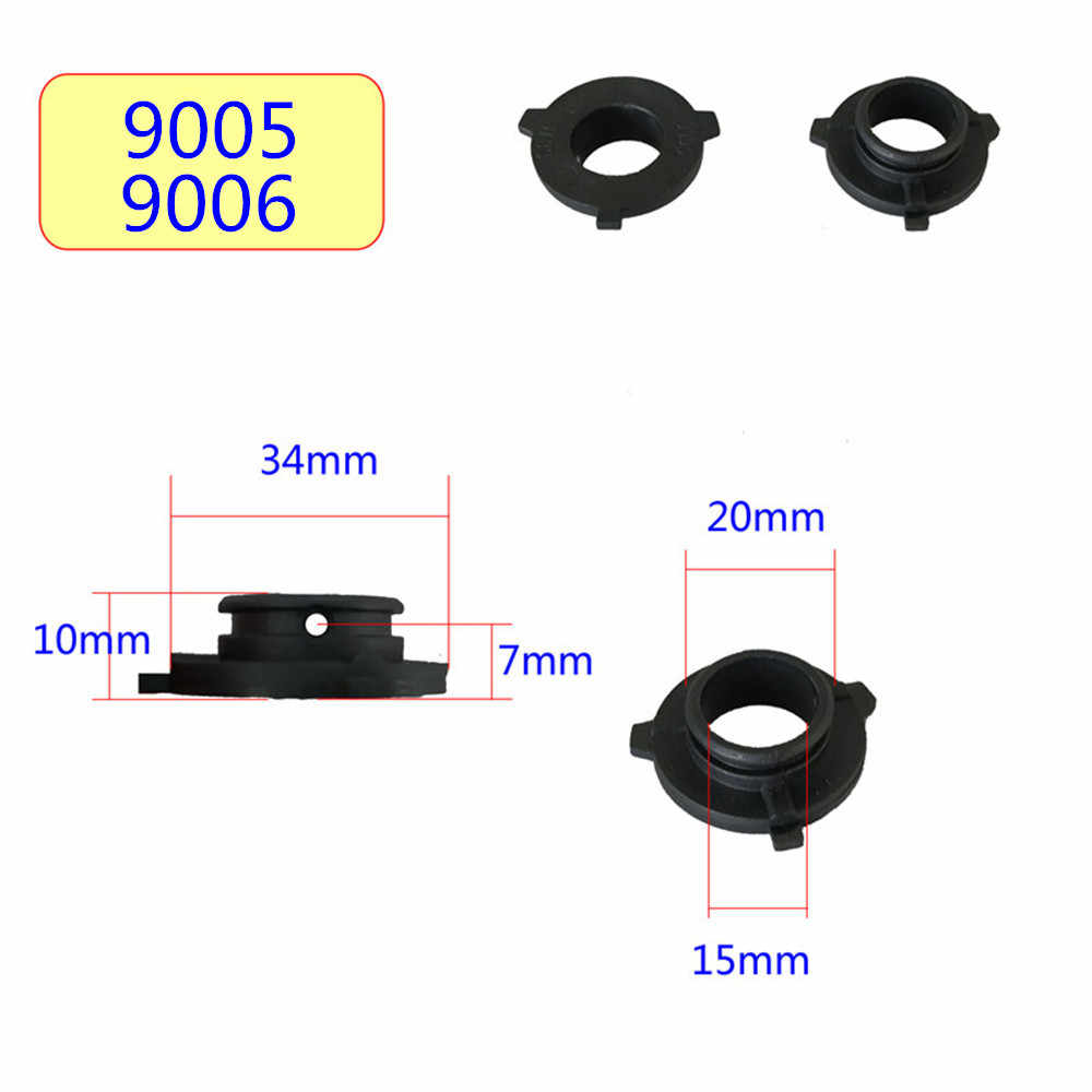 Inlong 2Pcs H7 LED Headlight Adapter Holder Base For Led H1 H4 H11 H8 H9 H13 9004 9005 9006 9007 880 Headlamp Sockets LED Bulbs