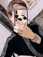 Luxury Creative Mirror Rhombus Phone Case For iPhone