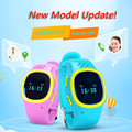2016 Wrist Watch 520 SOS Emergency Anti Lost GPS Tracker Watch For Kids with Wifi GSM Smart Mobile Phone App Bracelet Wristband