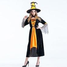 Fantasia de halloween bruja sexy costume deluxe adulto mujeres momento mágico traje de bruja para adultos trajes de cosplay de halloween fancy dress