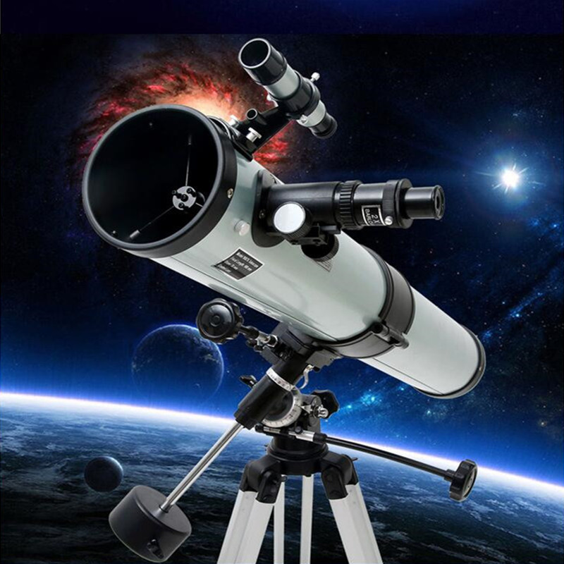 Large Aperture Reflective Astronomical Telescope 350 times Ultra HD Zoom Monocular Telescope Adult Space Observation F70076