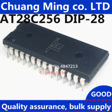 10 шт. IC AT28C256 AT28C256-15PU AT28C256-15PI DIP-28 Новинка