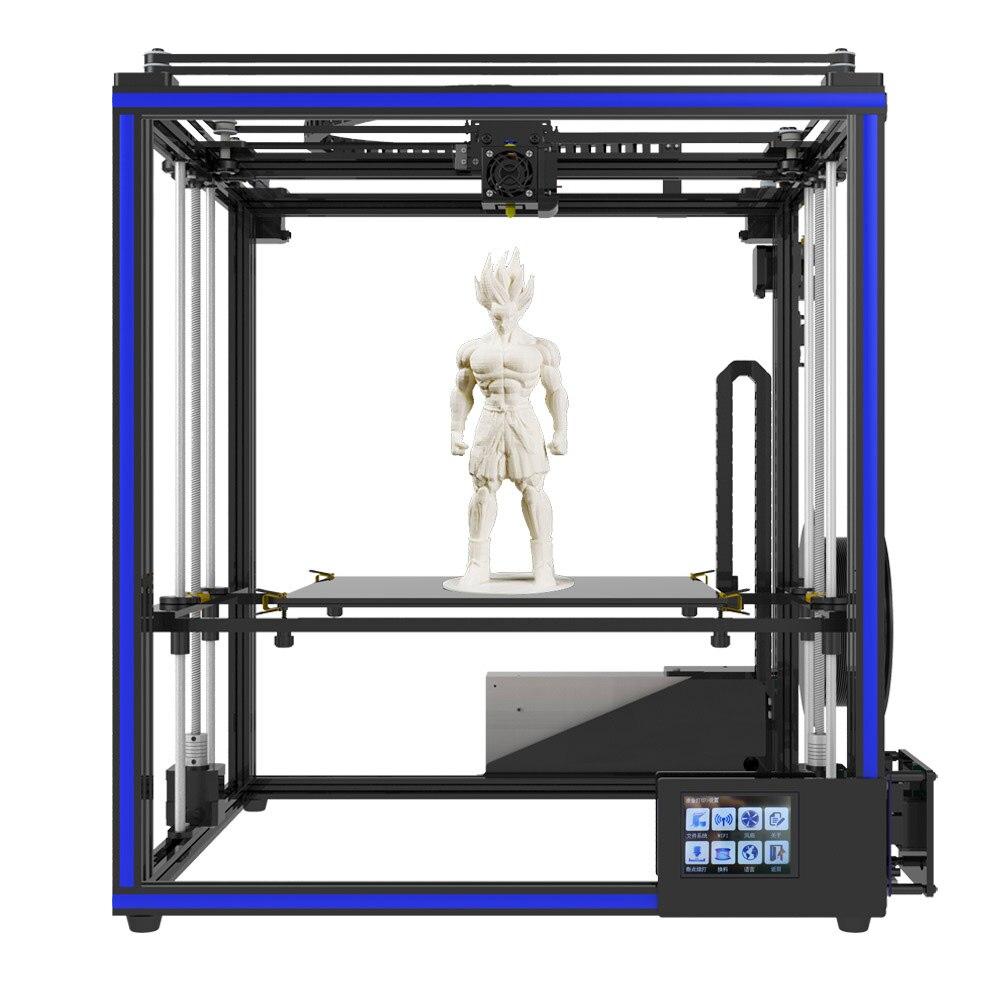 Tronxy X5SA haute vitesse Flsun 3D imprimante Auto-niveau grande taille pré-assemblage imprimante 3D lit chauffant écran tactile