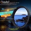 Orsda 37 49 52 55 58 62 67 77 72 82 86 мм ND2-400 Фильтр Для Sony Pentax Nikon Canon EOS 650d