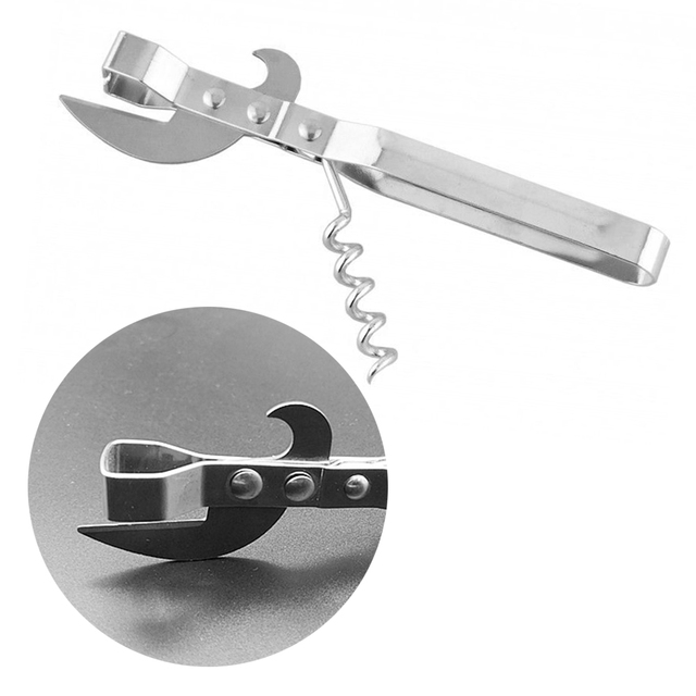 Multifunction Metal Bottle Opener
