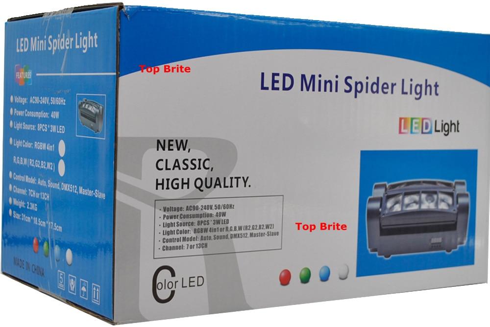 2019 Անվճար առաքում Hot Sales Portable NEW Moving Head - Կոմերցիոն լուսավորություն - Լուսանկար 5