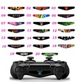 100PCS Custom Cool Colorful Skin Adhensive For PS4 Controller  LED Lightbar Sticker Lable