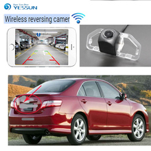 YESSUN For Toyota Camry 2012 2013 CCD Night Vision Backup camera Parking Assistance Reverse car wireless Rear View Camera wire wireless hd night vision for sony ccd kia sportage car rear view camera backup parking assistance rearview aid reversing