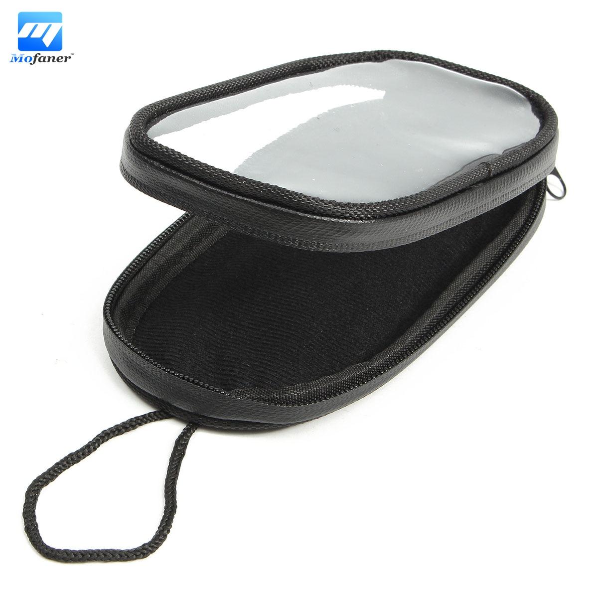 все цены на 1pc Black Motorbike Oil Tank Bag Motorcycle Waterproof Bag Screen Touch Navigation Bags онлайн