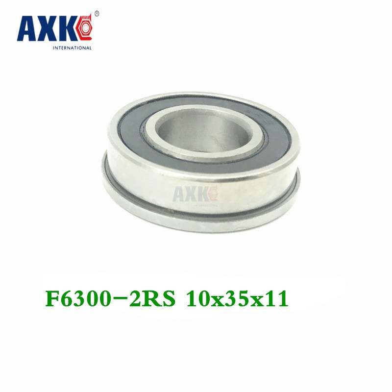 F6300 F6300rs F6300-2rs 10x35x11 Flange Bearing Miniature Deep Groove Ball Bearing Sealed Ball BearingsF6300 F6300rs F6300-2rs 10x35x11 Flange Bearing Miniature Deep Groove Ball Bearing Sealed Ball Bearings