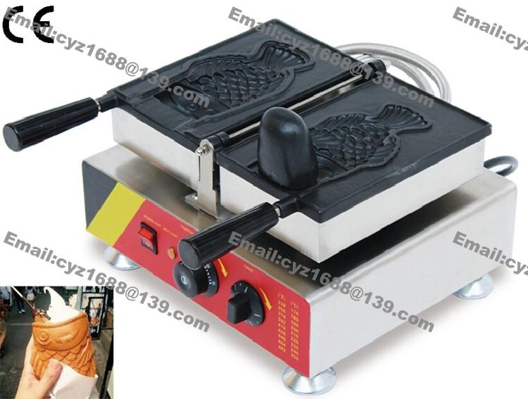 free shipping taiyaki ice cream cone machine taiyaki waffle corn machine machine for making. Black Bedroom Furniture Sets. Home Design Ideas