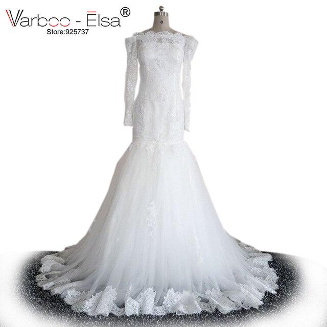 Vestido de noiva Günstige Elegante Hochzeitskleider Meerjungfrau ...