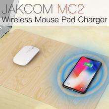 JAKCOM MC2 Mouse Pad Sem Fio Carregador venda Quente em Acessórios Como suporte Inteligente QI padrão de carregamento sem fio À Prova D' Água de mesa
