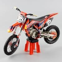 1/12 scale KTM 250SX f No.25 red bull racer Motorcycle Diecast Model Motocross enduro motorbike MX MOTORRA dirt car mini toy