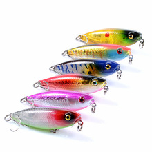 цена Deshion Topwater Pencil Lure 59mm 6.9g Fishing Lures Pesca Artificial Hard Baits Floating Wobblers Surface Fishing Tackles онлайн в 2017 году